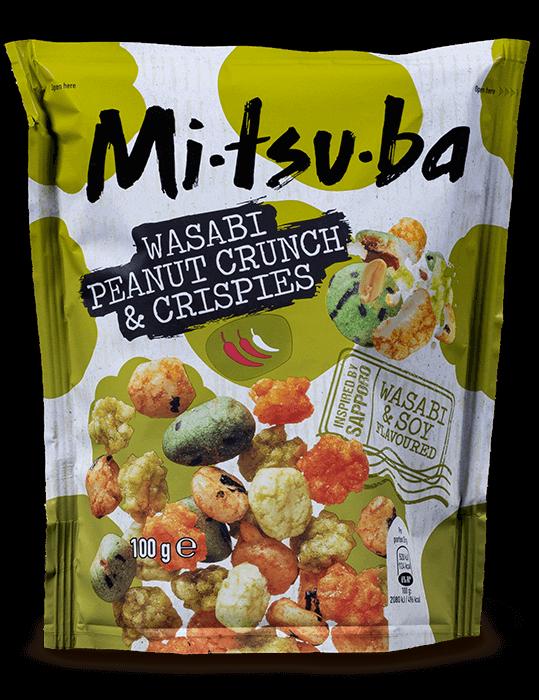 Wasabi Peanut Crunch & Crispies